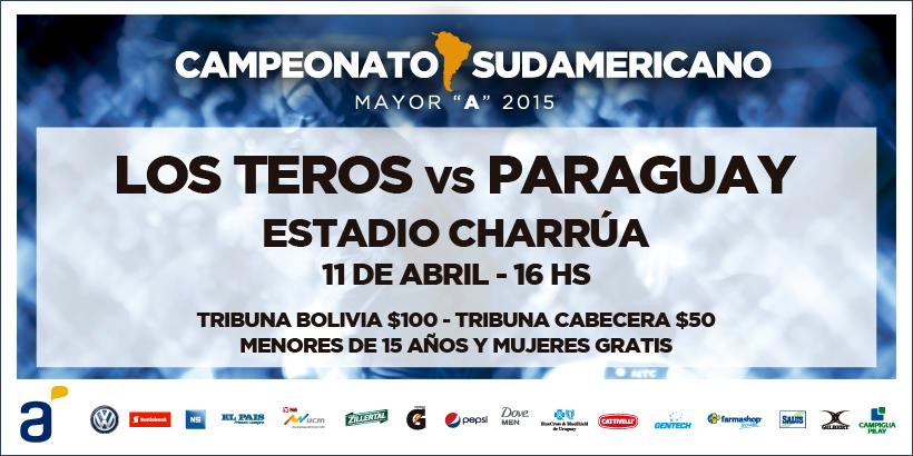 Sudamérica para Los Teros