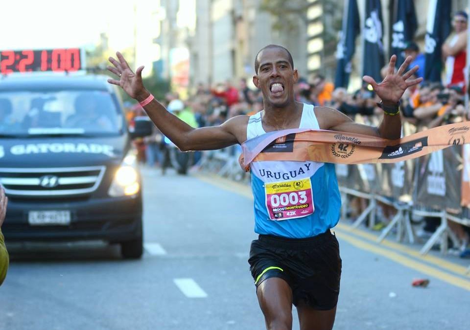 Rojas ganó el Maratón de Montevideo