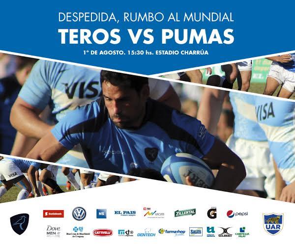 Partido despedida de Los Teros en Uruguay