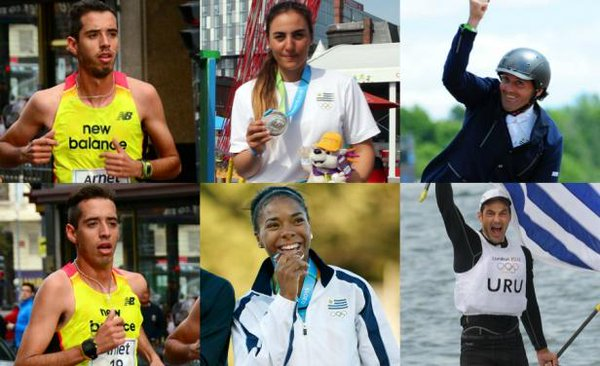 Uruguay ya tiene a seis olímpicos