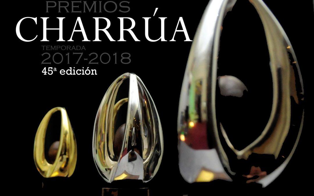 Premios Charrúa: ¡Estos son los ternados!