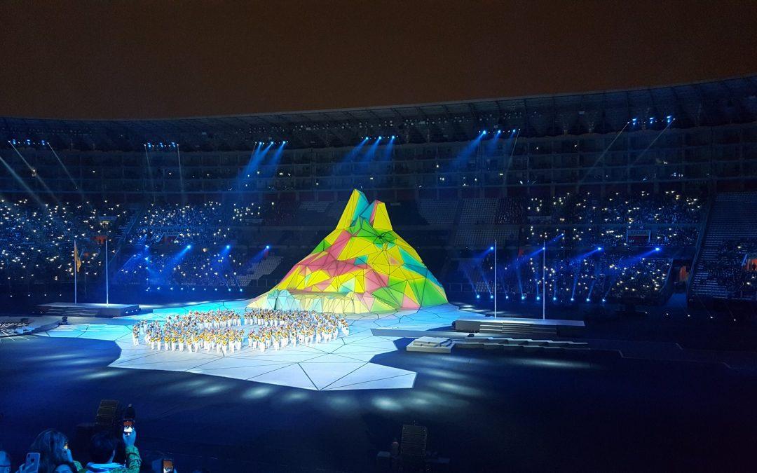 Sofisticada inauguración de los Panamericanos
