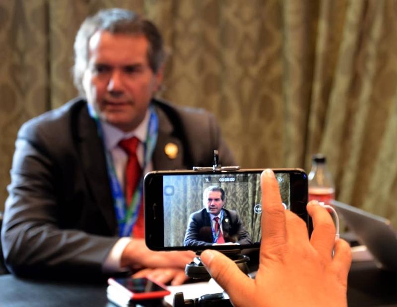 «Mi idea es llevar los Panamericanos al nivel más alto posible»